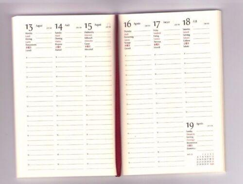 Kalender Buchblock 17 x 24 cm  zum selber einbinden