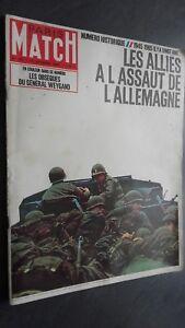 Rivista-Parigi-Match-N-827-Febbraio-1965-I-Allies-Di-039-Di-GERMANIA