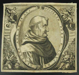 Reverend-Father-F-Loys-Louys-of-Granate-Pomegranate-Espana-c1650-Engraving-Xviie