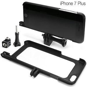 Tripod-Mount-fuer-iPhone-7-Plus-Zubehoer-Stativ-GoPro-Go-Pro-Adapter-Huelle-Bumper