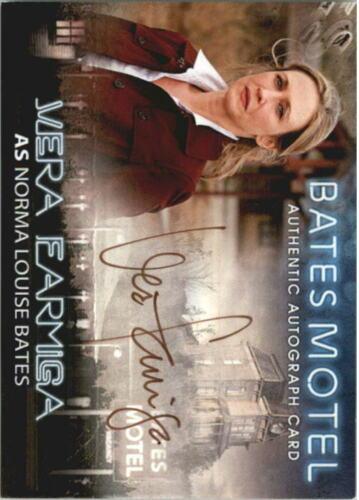 2015 Bates Motel Season One Autographs #15 Vera Farmiga as Norma Louise Bates