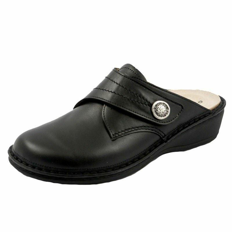 Finn Donna  Soft Santa Fe Leather Clog nero Nappa Nappa Nappa 82543-014099 c44ad7