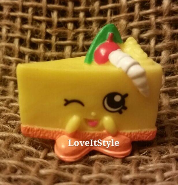 NEW Shopkins Season 1 Yellow Cheese Kate 043 Figure Bakery Cheesecake