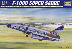 Belle Trumpeter 02232 - 1:3 2 North American F-100d Super Sabre - Neuf