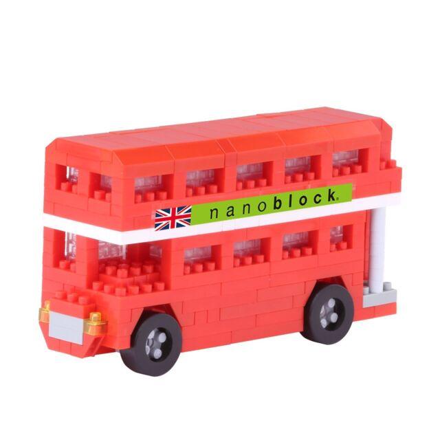 nanoblock - London Bus v2 - nano blocks micro-sized building blocks NBH-113