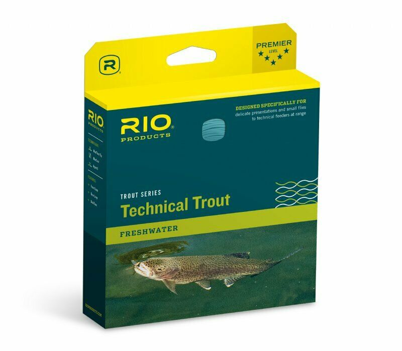 RIO Technical Trout Fly Line  WF5F  nuovo