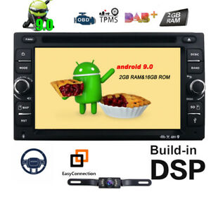 Details about HIZPO Android 9 0 HD 4G WiFi 2 Din Car Head Unit Stereo Radio  DVD Player GPS Nav
