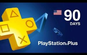 Details about 3 Month PlayStation Plus Membership - PS3/ PS4/ PS Vita  [Digital Code] US ONLY