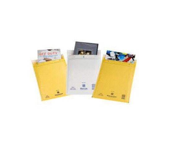 10 MAIL LITE Bags / Envelopes - SIZE H/5 27 x 36cm GOLD