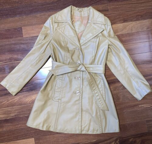 70's Montgomery Ward The Tannery Brown Leather Jac