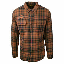 Harley-Davidson Men's 1903 Motorsports National Champions Plaid L/S Woven (153)