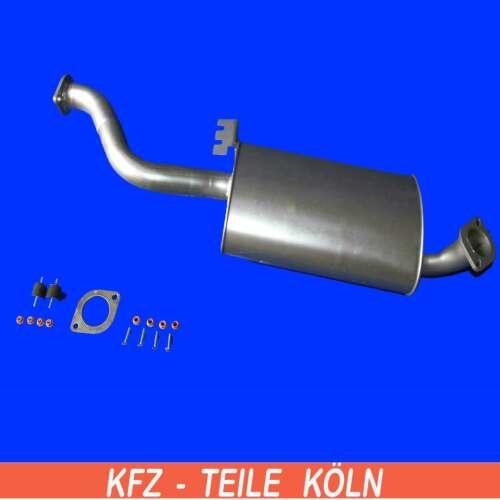 Auspuffanlage  Opel Mittelschalldämpfer Auspuff Frontera B 2.2 DTI