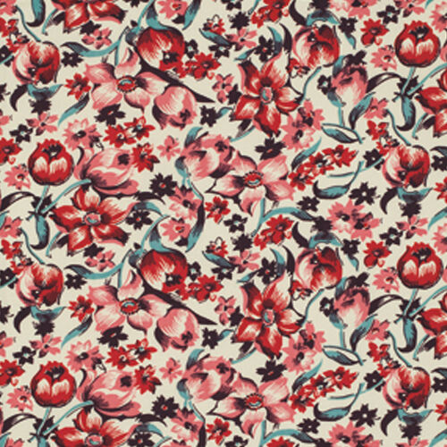 Denyse Schmidt Shelburne Falls Dress Floral Fabric in Maple PWDS039 100/% Cotton