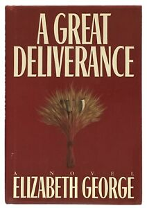 Elizabeth-George-A-Great-Deliverance-FIRST-EDITION-OF-HER-FIRST-BOOK