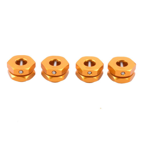 1//8 Scale RC Buggy 17mm Aluminium Wheel Hex Hubs For Team Associated Nomad RC8