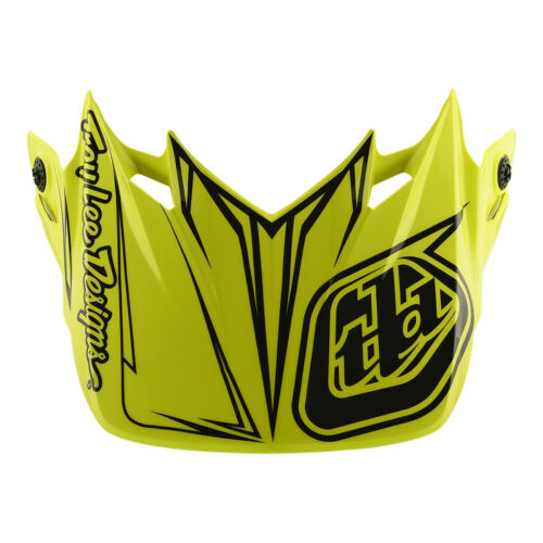 Troy Lee Designs SE4 Polyacrylite Pinstripe Replacement Visor Yellow