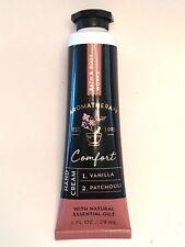 2 Bath & Body Works Aromatherapy Comfort Vanilla Patchouli Hand Cream 1oz