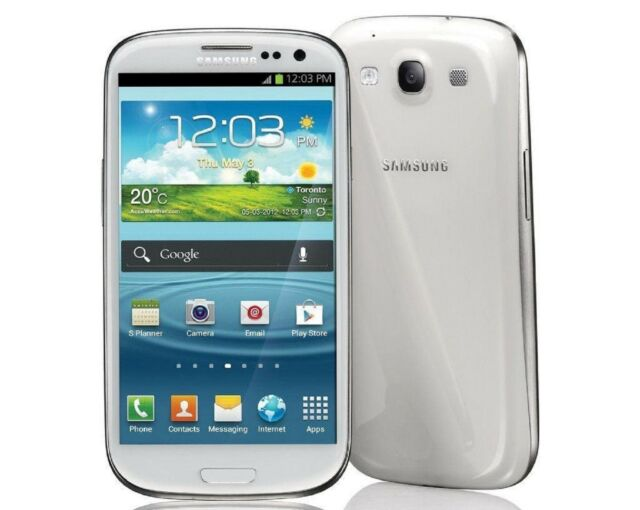 GOOD! Samsung Galaxy S3 SCH-S968C 16GB Android Touch STRAIGHT TALK Smartphone