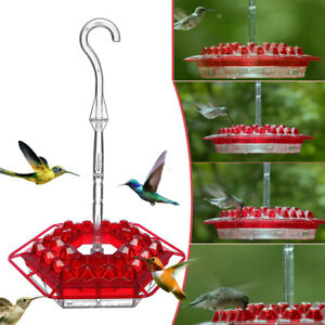 Mary's Sweety Hummingbird Feeder W/ Perch and Built In Ant Moat Diamond Shapes