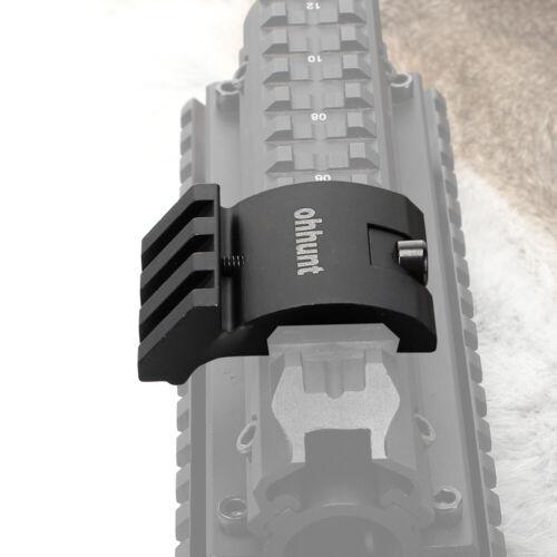 Ohhunt Aluminium Low Profile 3 Slot 45 Degree Offset Picatinny Weaver Rail Mount