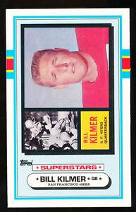1989-Topps-FOOTBALL-TALK-Test-Issue-Billy-Kilmer-NM
