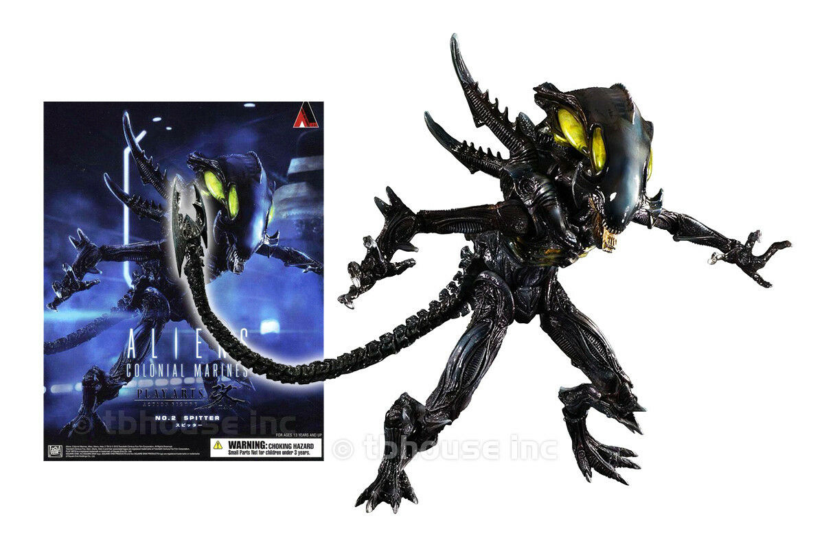 SPITTER ALIEN XENOMORPH figure ALIENS COLONIAL MARINES square-enix PLAY ARTS KAI
