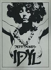 **IDYL: JEFF JONES**(1979, DRAGON'S DREAM)**SCARCE 1ST PRINT!**WHITE PAGES**NM**
