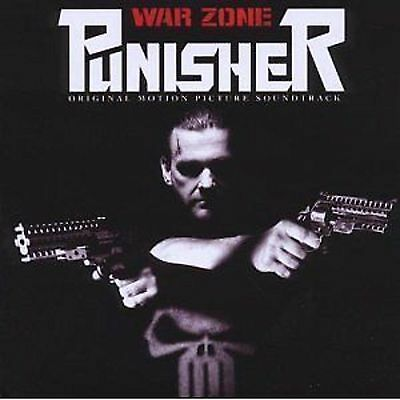 Punisher: War Zone Film Soundtrack CD NEW Slipknot/Slayer/Static-X/Rob Zombie