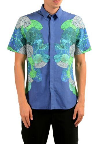 Versace Versus Men/'s Graphic Short Sleeve Casual Shirt