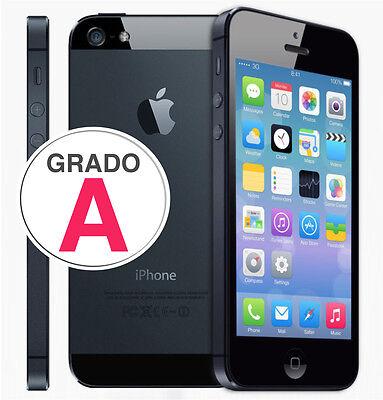 APPLE IPHONE 5 64GB NERO ORIGINALE IMEI 013554009983835 + GARANZIA + GRADO A