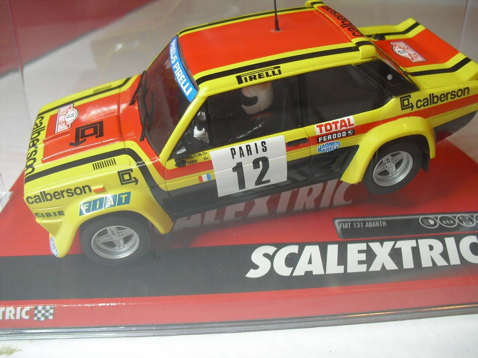 SCALEXTRIC A10194S300 FIAT 131 ABARTH Mounton-Montecarlo 1 32 new
