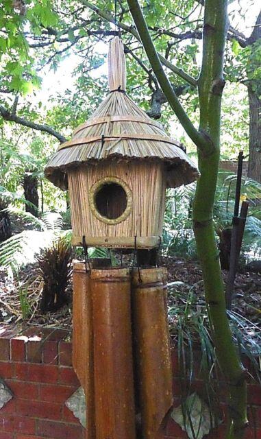 Large Handmade Bamboo Garden Wind Chime