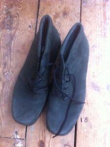 38 noires 5 5 daim Rohde en Bottes lacets suède noir 5 à qwq86TU