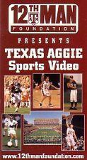 Texas A&M Aggie vs. Colorado Football VHS Video, 2000-2001 Season, Game 5, NEW