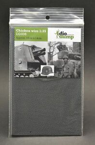 DioDump-DD006-Chicken-wire-1-35-scale-diorama-accessory