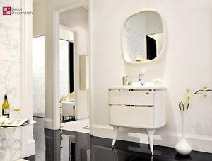 Einzelwaschtisch Luxus Waschtisch Designer Badezimmer Marmorplatte Luxus New Ebay