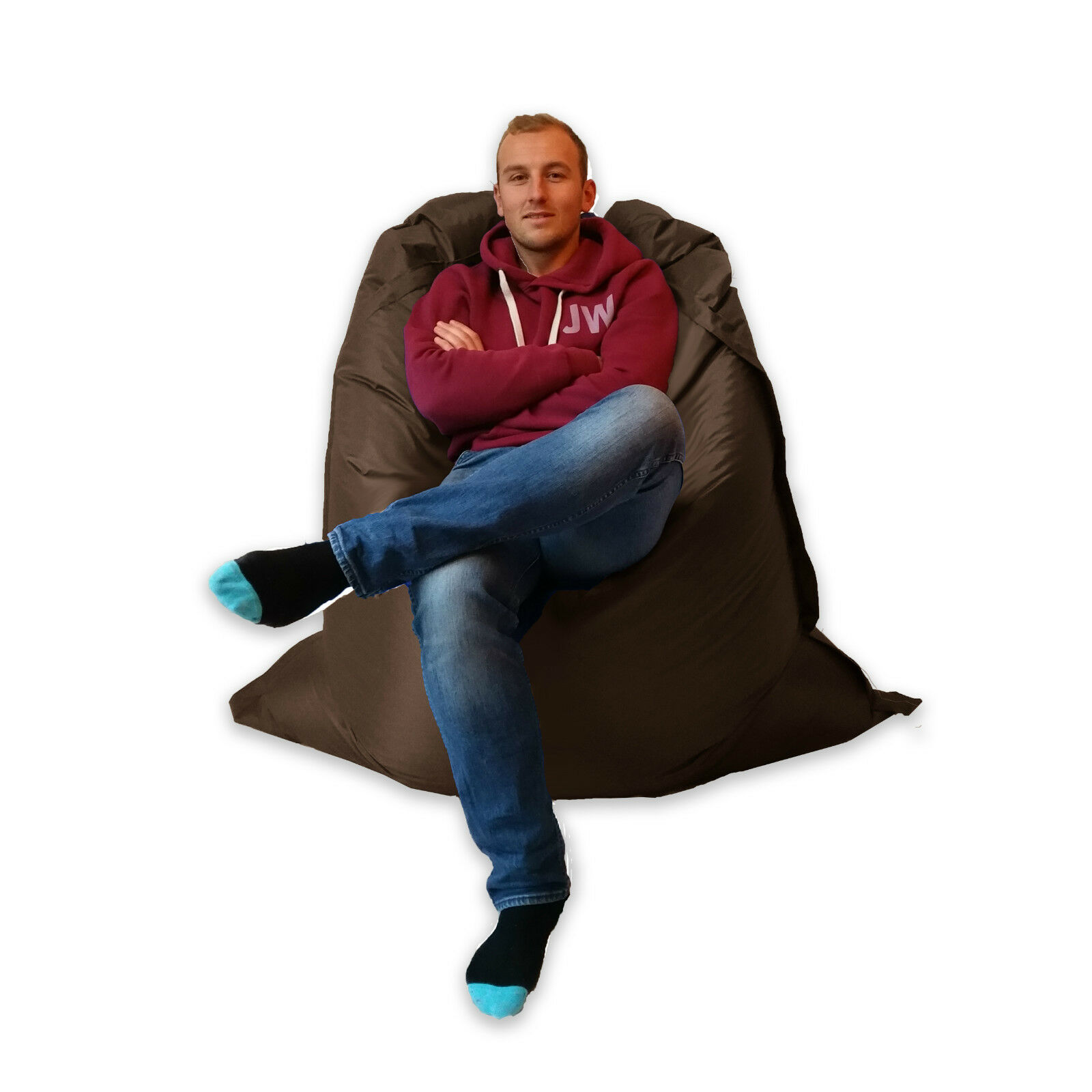 Phenomenal Large Bean Bag Giant Indoor Outdoor Beanbag Xxxl Garden Waterproof Big Cushion Uwap Interior Chair Design Uwaporg