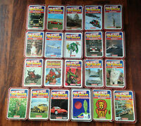 Waddingtons Individual Top Trumps Series 1 2 Marvel Fantasy Cars Animals Sport