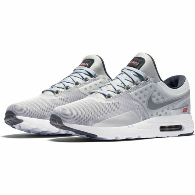 super popular 29d90 f1488 NEW Nike Air Max Zero QS Metallic Silver size 11 Men s Style 789695 002  Sneakers