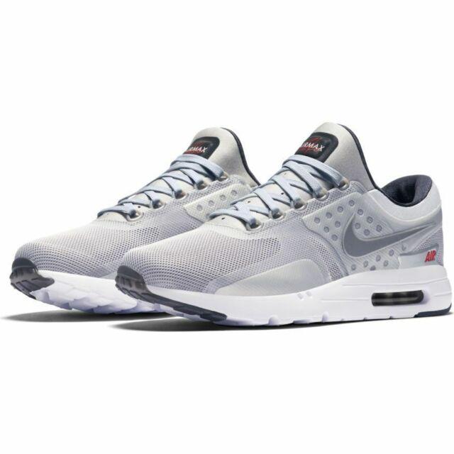 promo code 44bde 7e0fe NEW Nike Air Max Zero QS Metallic Silver size 12 Men s Style 789695 002  Sneakers