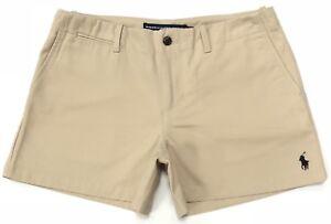 Ralph-Lauren-Damen-Shorts-in-dune-hellbraun