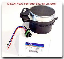 Mass Air Flow Meter W/Connector  For Buick Cadillac Chevroler  Oldsmobile Saab &