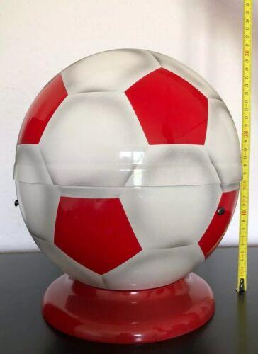 Fußball Urne Rot Weiß Original Bestatter Incl.Versand