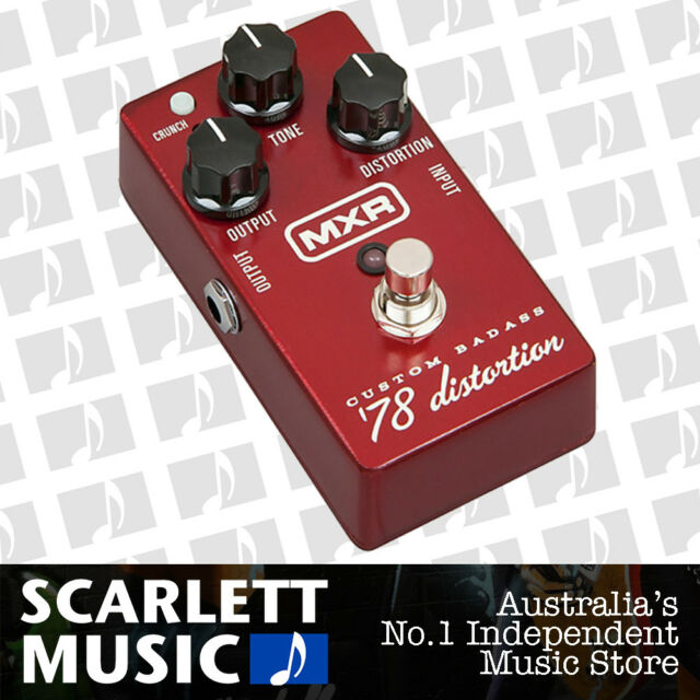 MXR M78 - Custom Badass '78 ( 78 ) Distortion Analog Guitar Effects Pedal