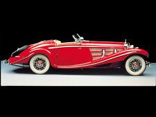 1 Mercedes Sport Car Exotic GT 43 Concept 18 Vintage Carousel Red 24 SL 12 300