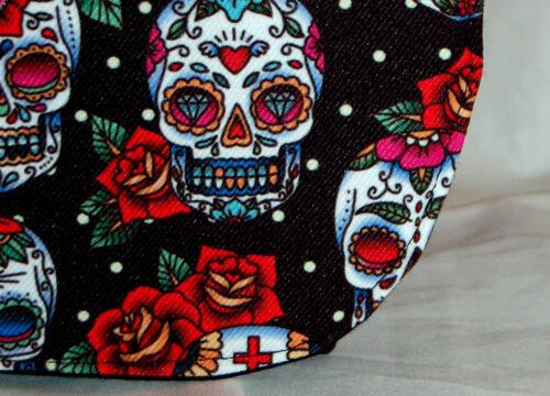 Sugar Skull Bag, Sugar Skull Pattern Messenger Bag Sugar Skull Shoulder Bag