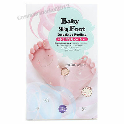 Holika Holika Baby Silky Foot One Shot Peeling 1 pair Free gifts