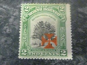 NORTH-BORNEO-POSTAGE-amp-REVENUE-STAMP-SG203-2-CENTS-LIGHTLY-MOUNTED-MINT
