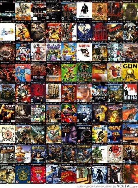 PS2 PLAYSTATION 2 PS2  / JUEGOS / PAL / FISICO / USADO