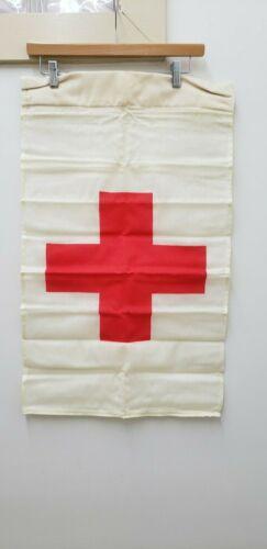 Military Issued Vietnam Era Red Cross Flag-NEW